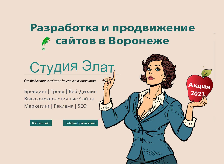Создание и продвижение сайтов в воронеже прогнать сайт Соболевский проезд